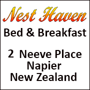 Napier Bed and Breakfast accommodation logo.